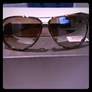 Tom Ford brown gradient sunglasses